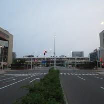 新潟市信号写真